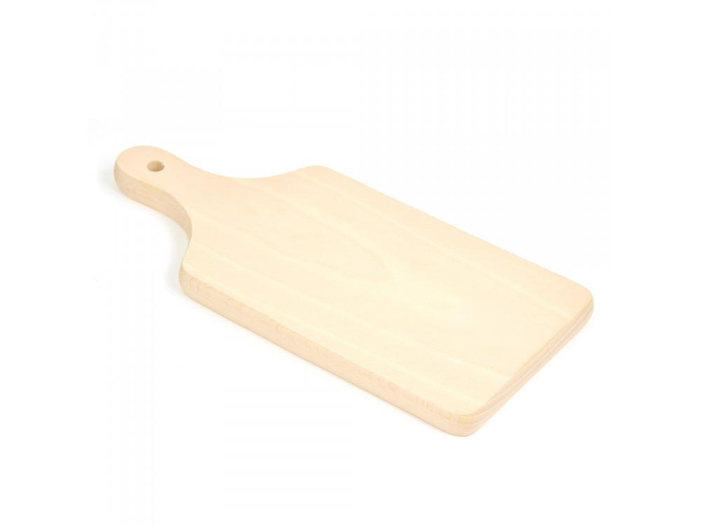 Deska do krojenia drewniana - mała, 11,5 x 26 cm