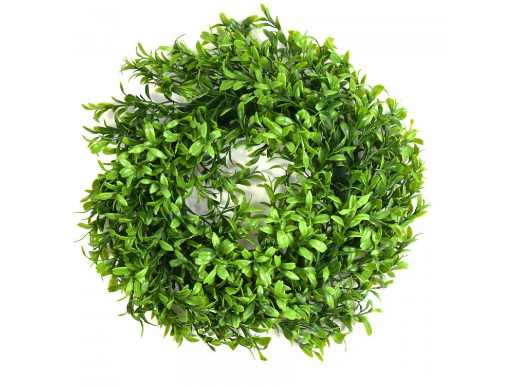 Christmas wreath - green boxwood, 30 cm