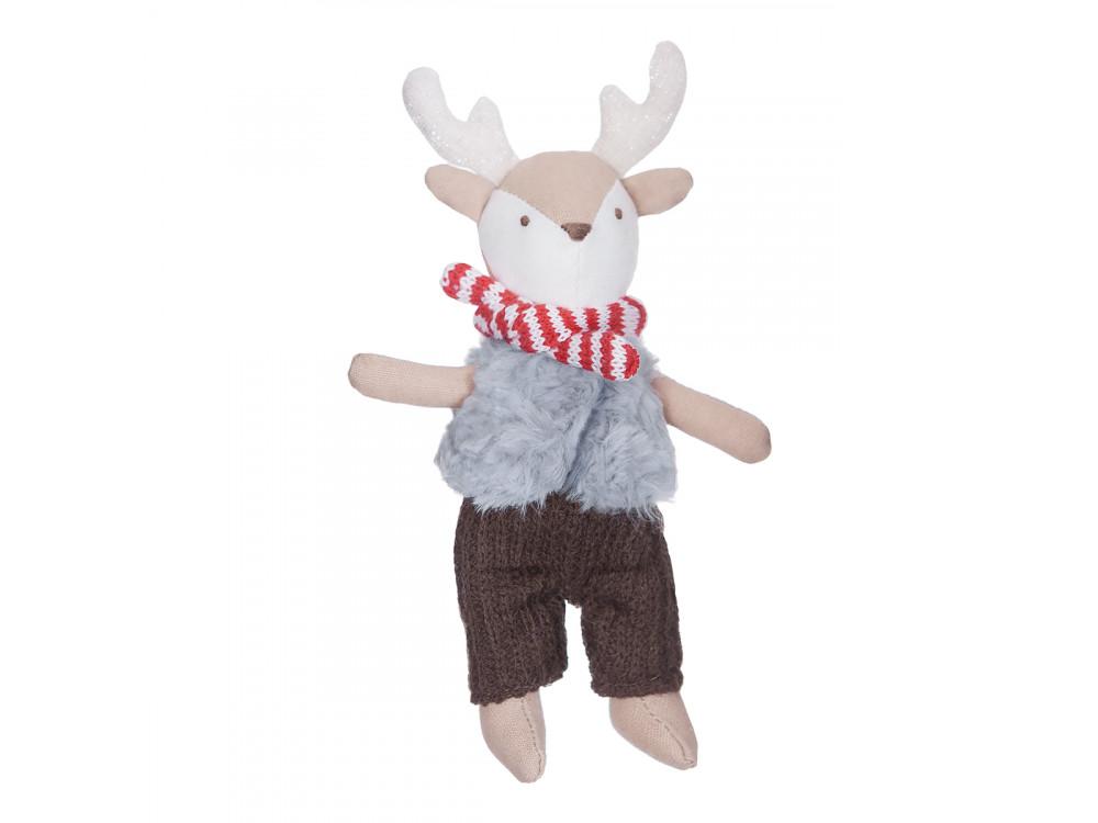 Creative cuddly Crafty Friends - Reindeer Finny