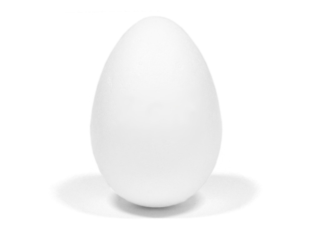 Styrofoam egg - 15 cm