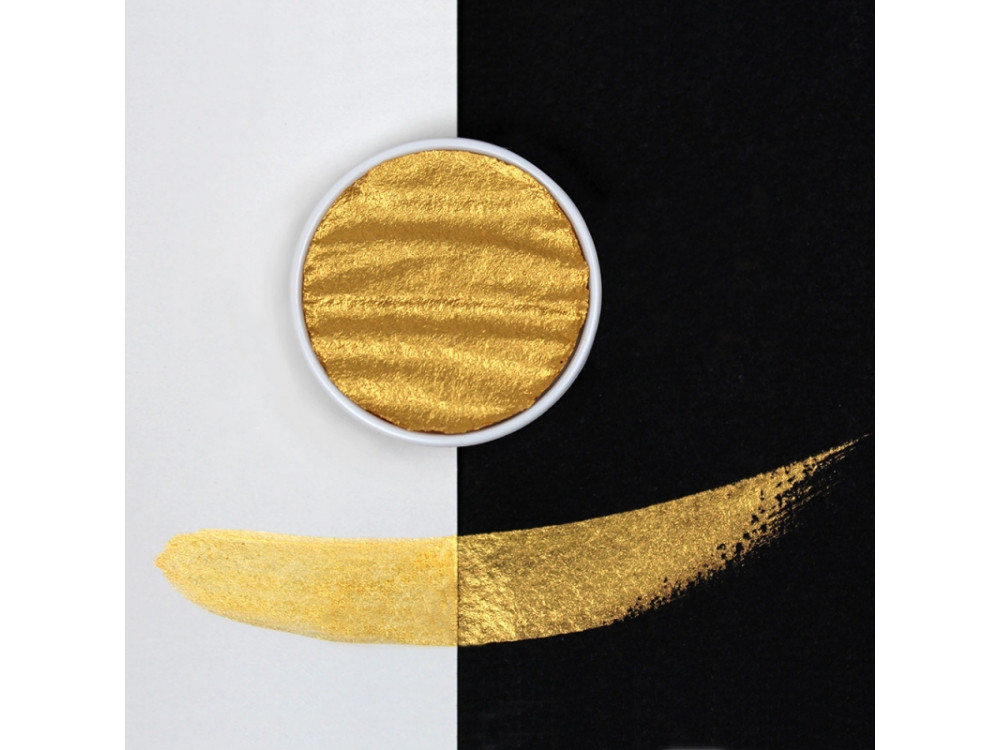Watercolor paint 30 mm - Gold Pearl - Coliro Pearl Colors