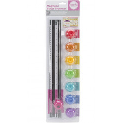 """Twist Trimmer Magnetic Combo Pack 16"""" with 8 Blades"""