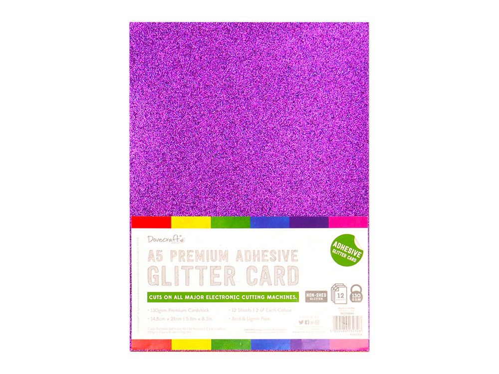 A4 Multi Coloured Felt Fabric Sheets 10 Colours Art Crafts Home//School Dovecraft