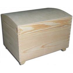 Drewniana skrzynka, kuferek - 25 x 35 cm