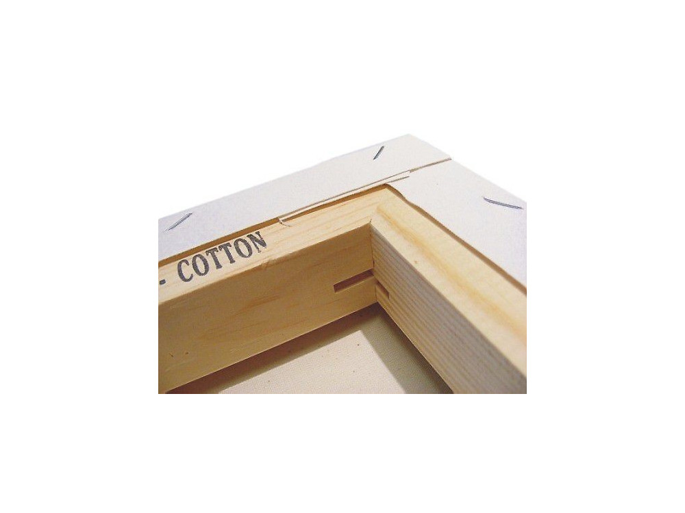 Cotton stretched canvas 18x24 cm Art Hobby