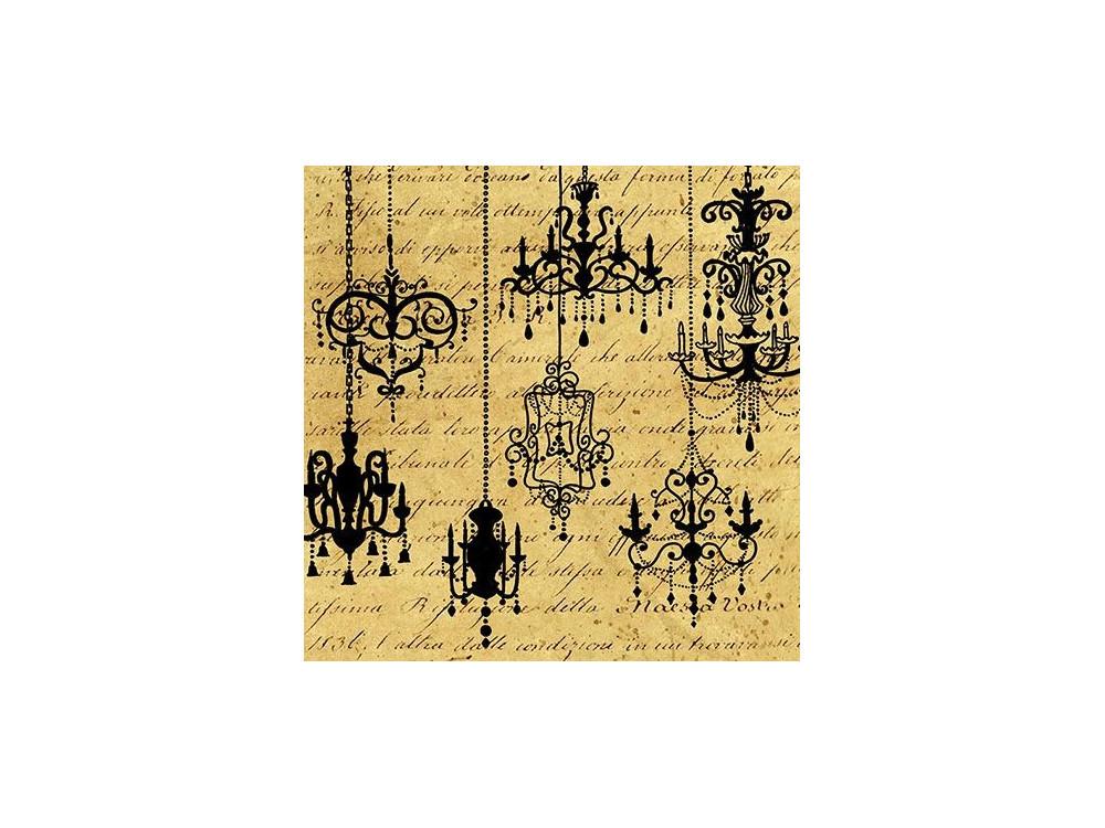 Decorative Napkins CHANDELIERS 20 pcs