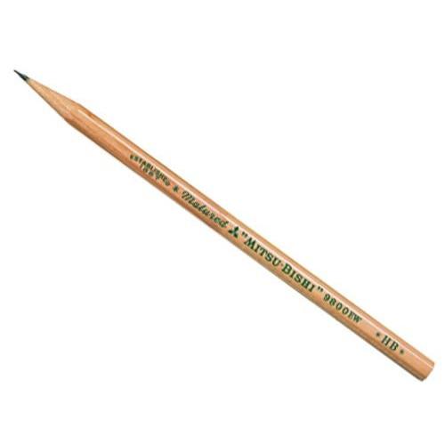 Ołówek drewniany 9800 - UNI - HB
