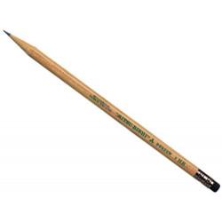 Ołówek drewniany z gumką 9852 - UNI - HB