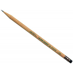 Pencil with rubber HB UNI 9852