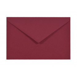Koperta Sirio Color 115g - C6, Cherry, bordowa