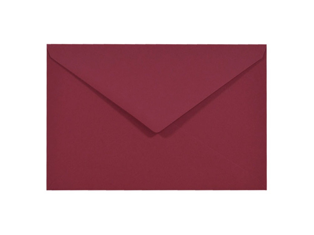Sirio Color Envelope 115g - C6, Cherry, crimson