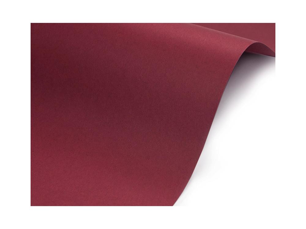 Sirio Color Paper 115g - Cherry, bordeaux, A4, 20 sheets