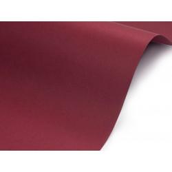Papier Sirio Color 210g - Cherry, bordowy, A4, 20 ark.