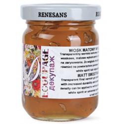 Matt smoothing wax - Renesans - 110 ml