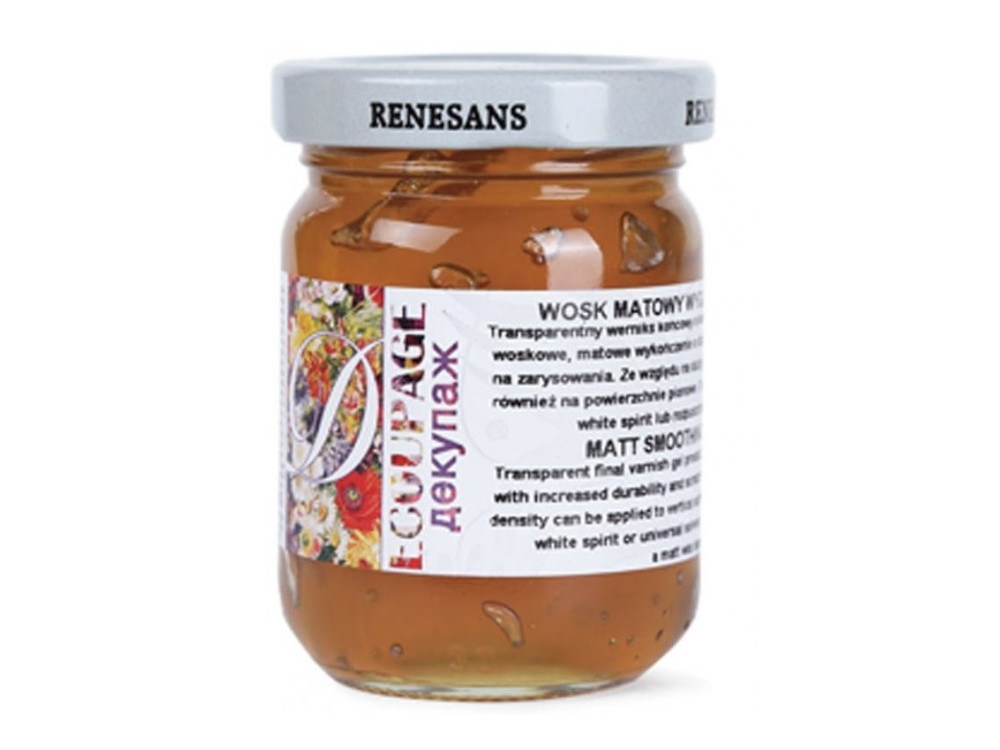Wosk wygładzający - Renesans - matowy, 110 ml