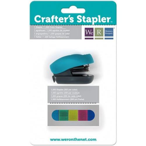 Zszywacz mini kolorowe zszywki We R - Stapler