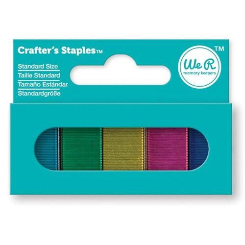Zszywki kolorowe 1500 szt. 5 kolorów We R - Staples