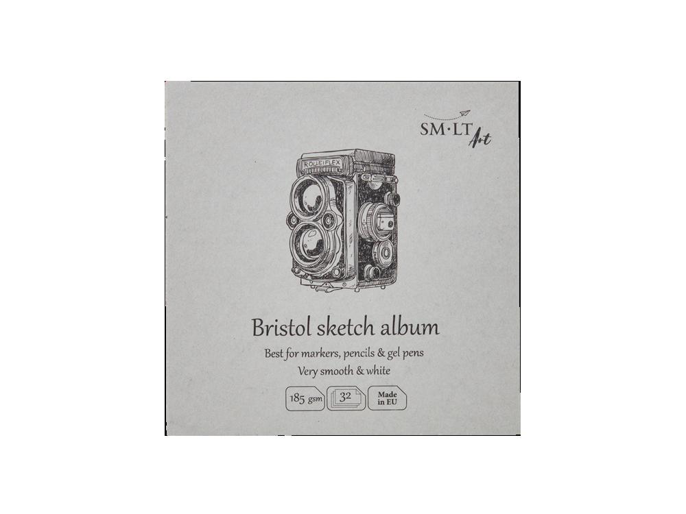 Universal Bristol Sketch Album 14 x 14 cm - SM-LT - white, 185 g, 32 sheets