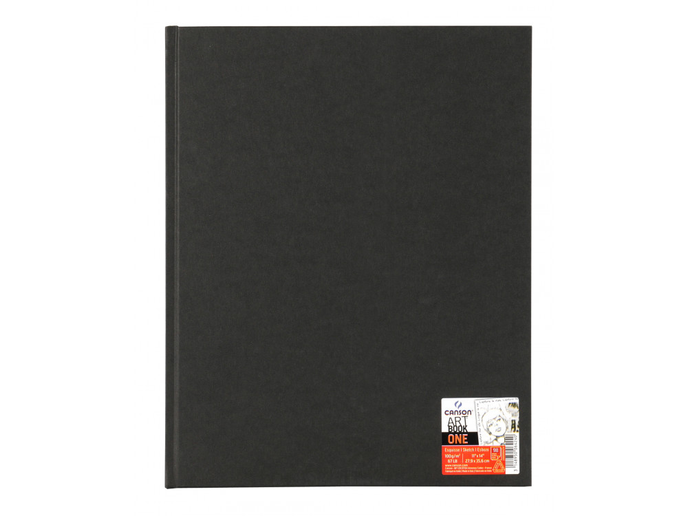 Sketchbook Art Book One A3 - Canson - black, 100 g, 98 sheets