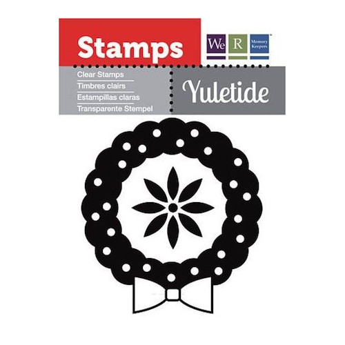 Stempel We R - Yuletide -  Wreath