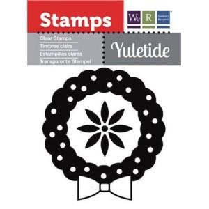 Stempel We R - Yuletide -  Wreath