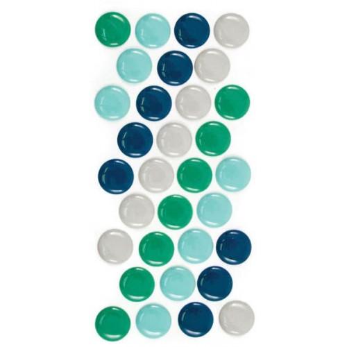 Naklejki z emalii We R - Enamel Dots - Cool