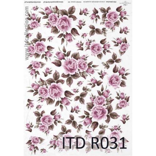 Papier ryżowy decoupage ITD R031