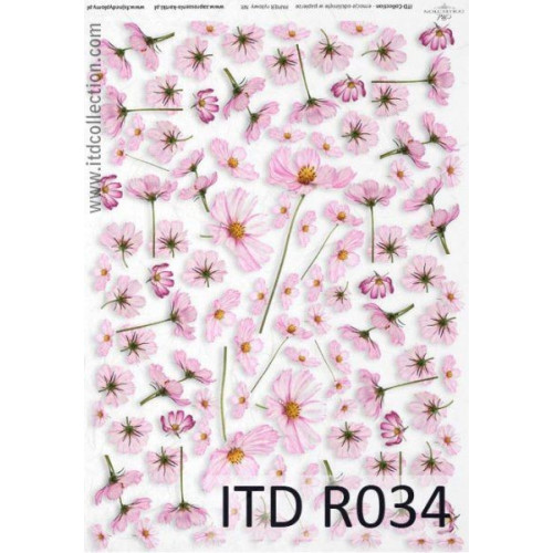 Papier ryżowy decoupage ITD R034