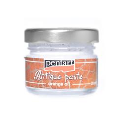 Pasta postarzająca - Pentart - biała, 20 ml