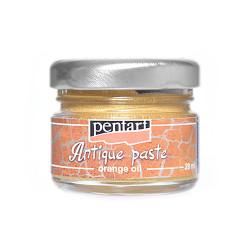 Pasta postarzająca - Pentart - złota, 20 ml