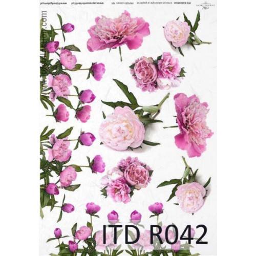 Papier ryżowy decoupage ITD R042