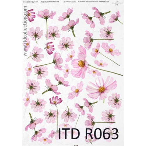 Papier ryżowy decoupage ITD R063