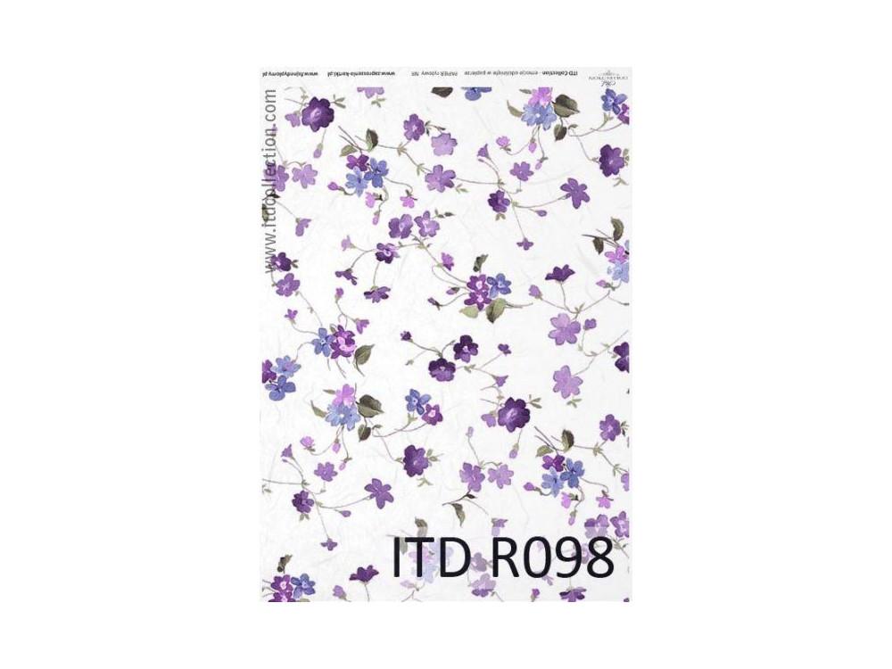 Papier ryżowy decoupage ITD R098