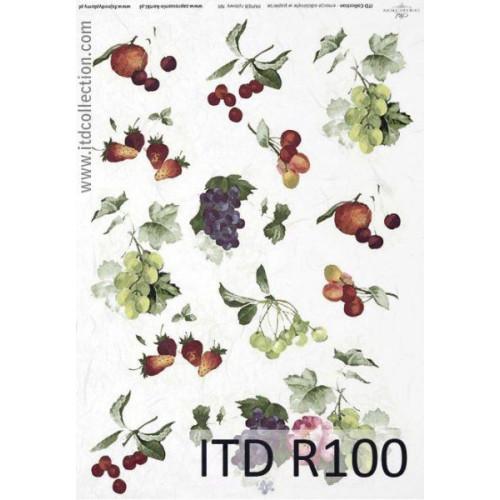 Papier ryżowy decoupage ITD R100
