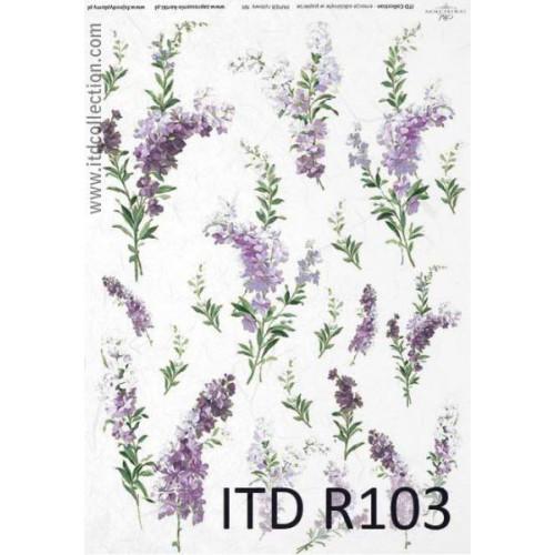 Papier ryżowy decoupage ITD R103