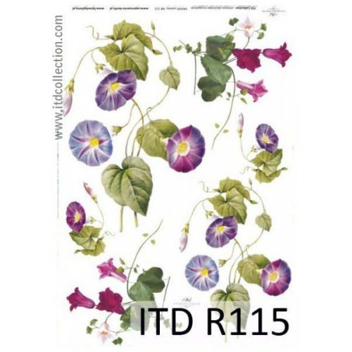 Papier ryżowy decoupage ITD R115