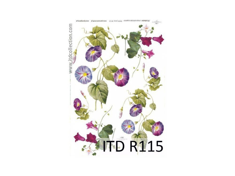 Papier do decoupage A4 - ITD Collection - ryżowy, R115
