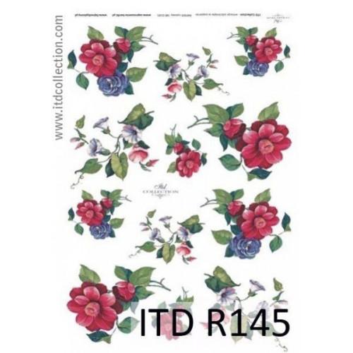 Papier ryżowy decoupage ITD R145