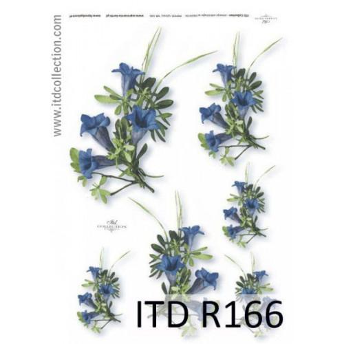Papier ryżowy decoupage ITD R166