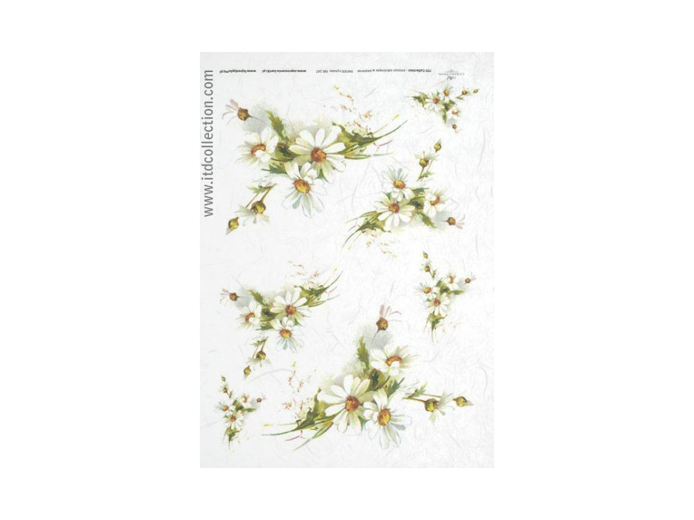 Decoupage paper A4 - ITD Collection - rice, R247
