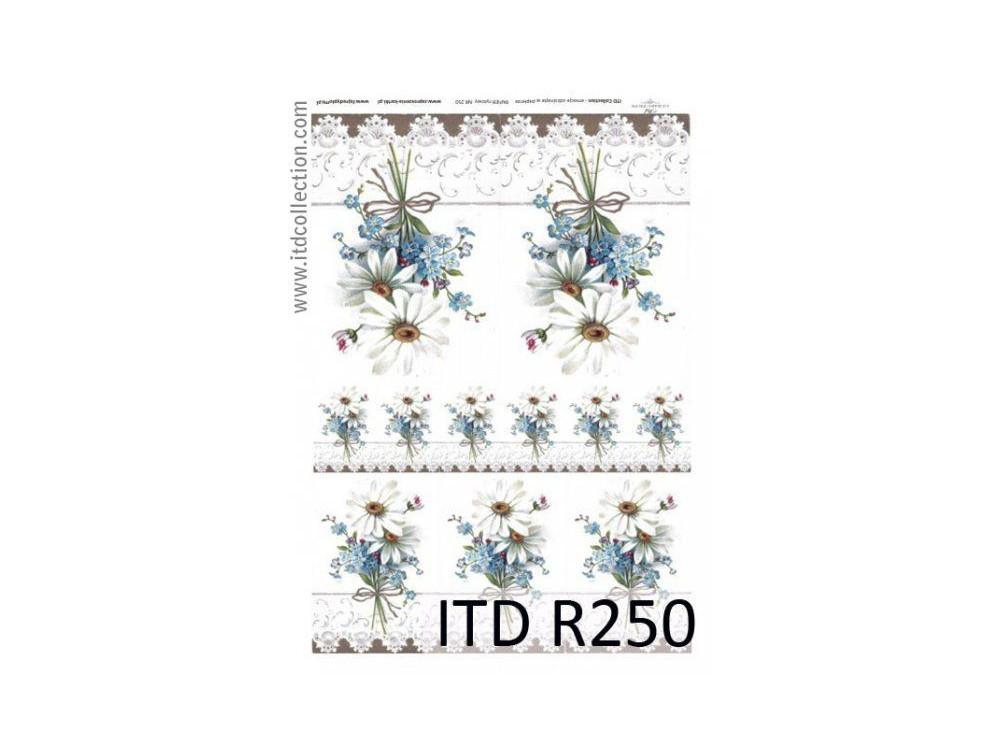 Papier ryżowy decoupage ITD R250