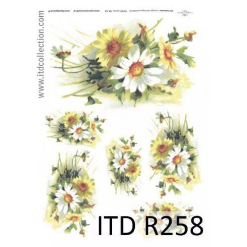 Papier ryżowy decoupage ITD R258