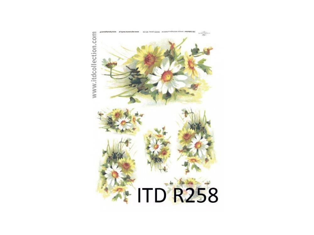 Decoupage Rice Paper ITD R258