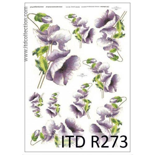 Papier ryżowy decoupage ITD R273