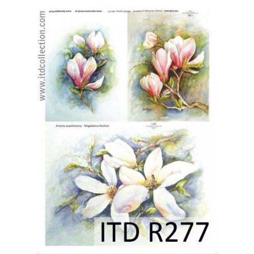 Papier ryżowy decoupage ITD R277