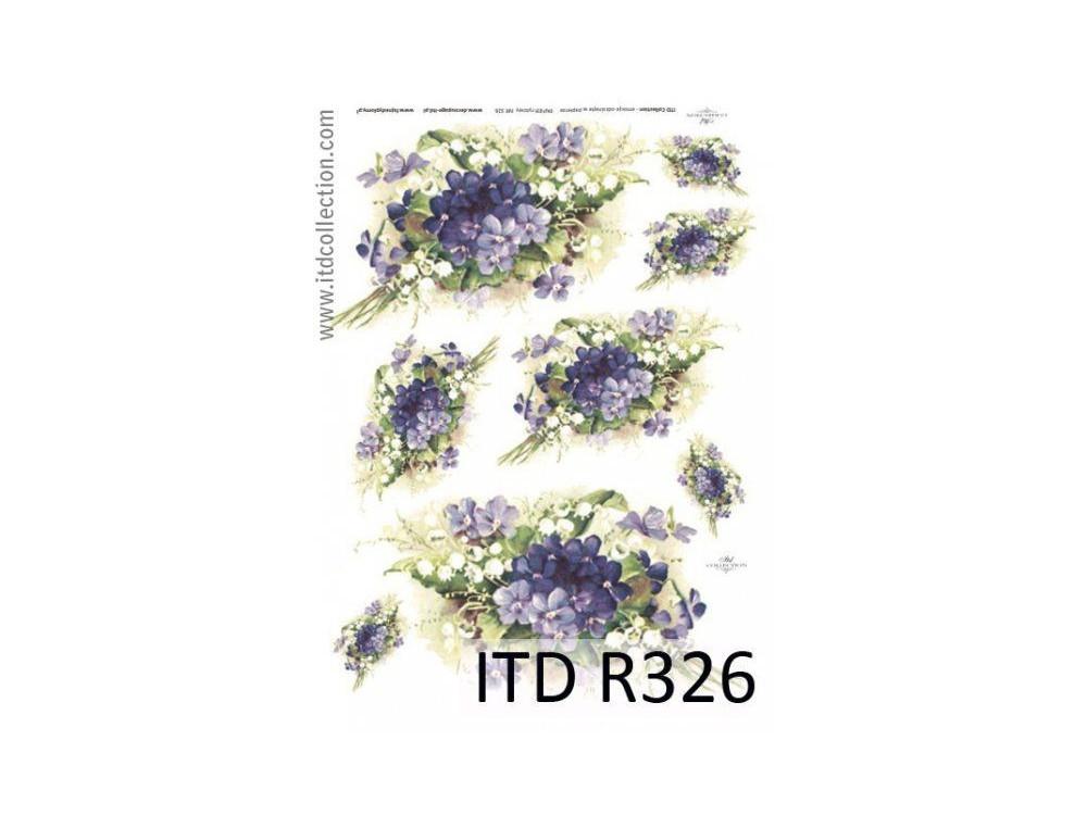 Decoupage Rice Paper ITD R326