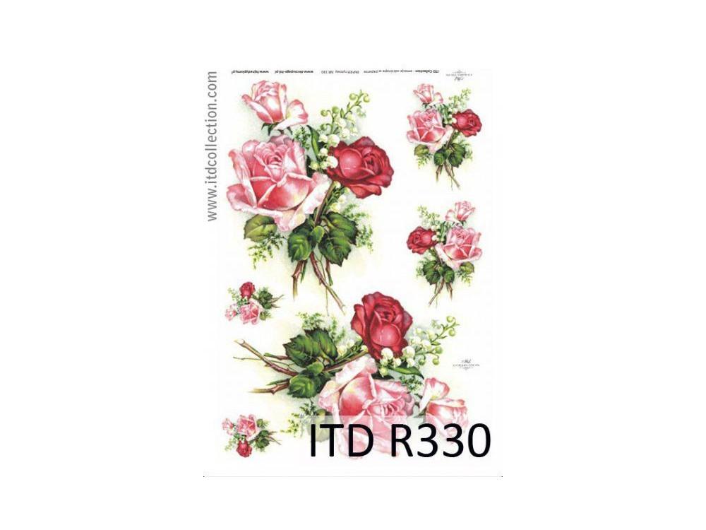 Decoupage Rice Paper ITD R330