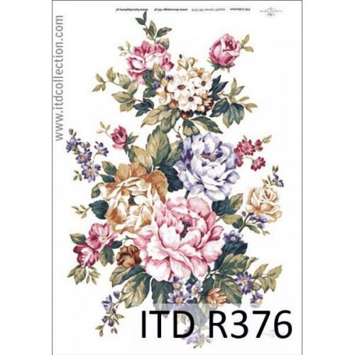 Papier ryżowy decoupage ITD R376
