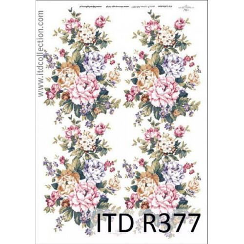 Papier ryżowy decoupage ITD R377