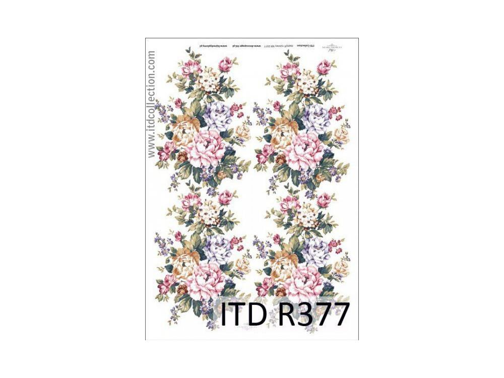 Decoupage Rice Paper ITD R377